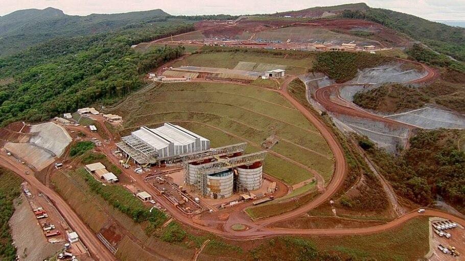 Anglo faz 1º carregamento de minério em teste do projeto Minas-Rio - Divulgação