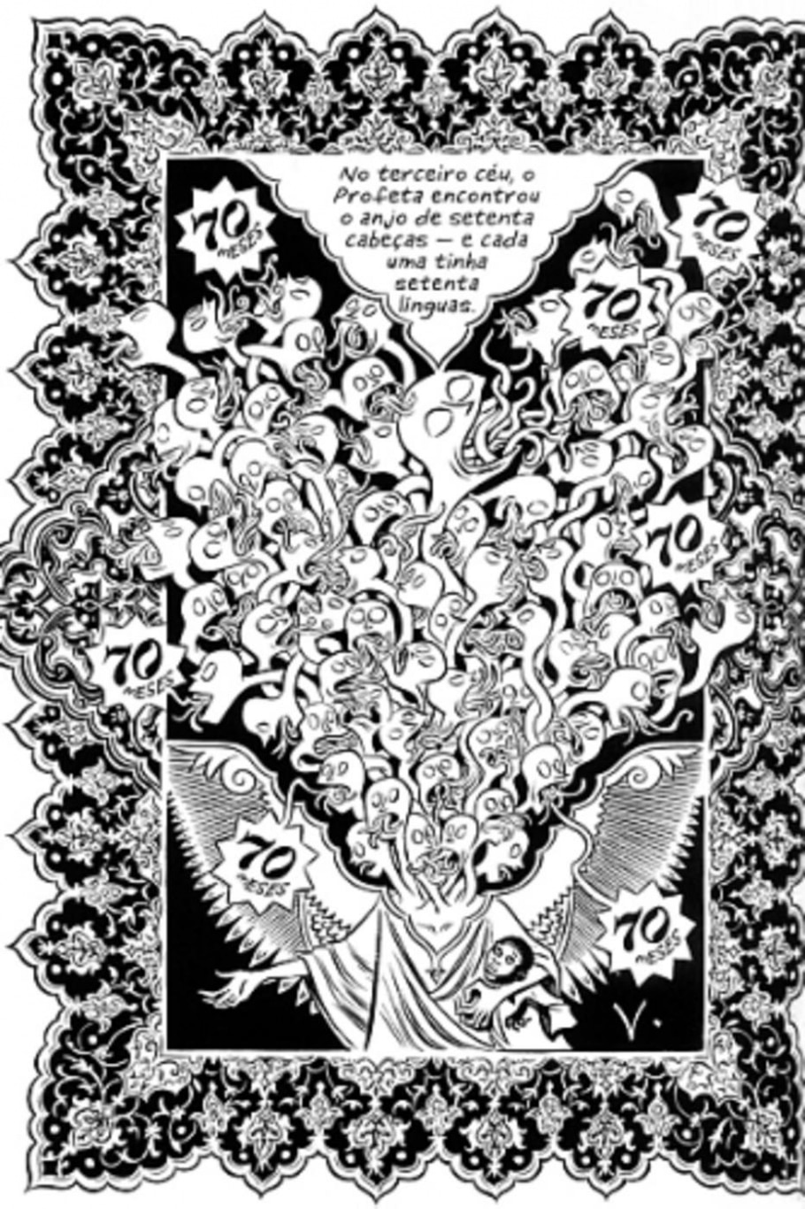 Nova graphic novel de Craig Thompson mostra um mundo de fé, escravidão, abuso e esperança - Reprodução
