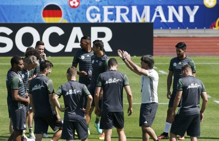 Treino da seleção alemã - Denis Balibouse/ Reuters