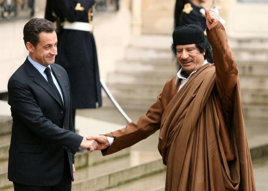 Ditador líbio Muamar Kadafi - REUTERS/Jacky Naegelen