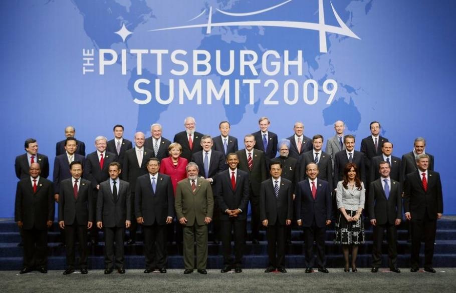 3ª Reunião do G20- Pittsburgh - Estados Unidos (2009) - Kevin Lamarque / Reuters