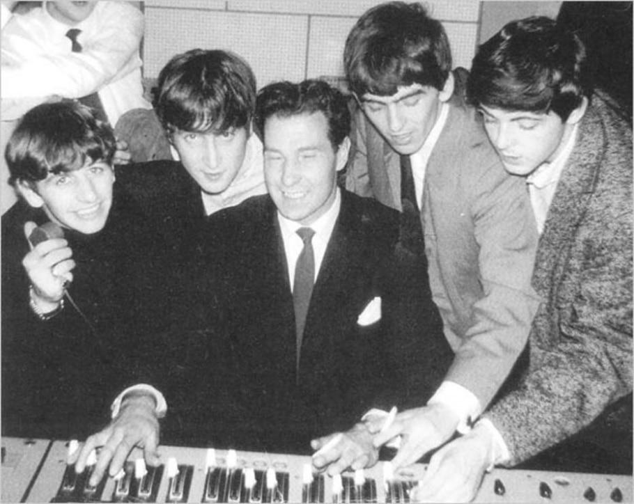 Os Beatles em 1963 - RICHARD LANGHAM/NYT
