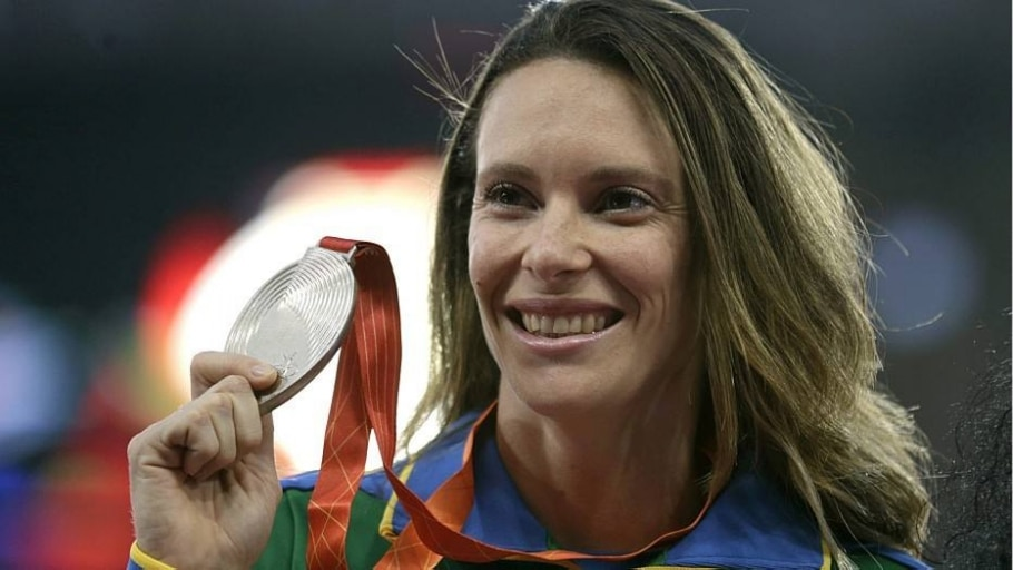 Fabiana Murer conquista prata no salto com vara no Mundial - Lavandeira Jr./EFE