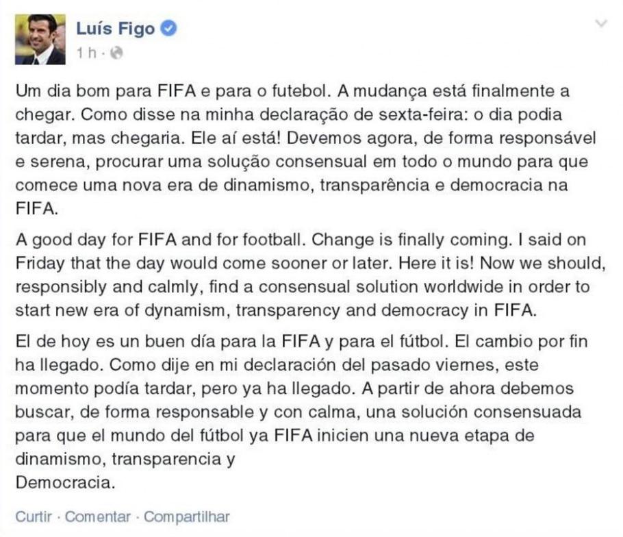Luis Figo - Reprodução