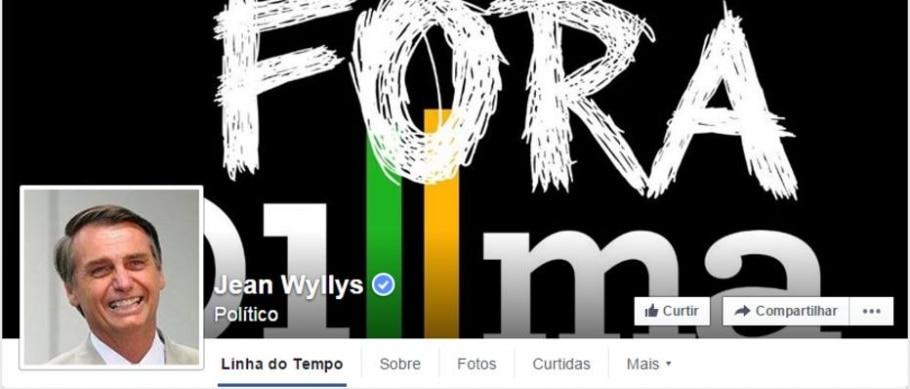 Página do Facebook de Jean Wyllys é hackeada - Reprodução/Facebook