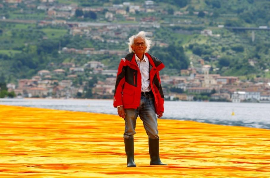 O artista - Stefano Rellandini/Reuters