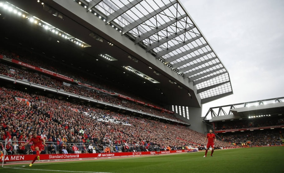 Anfield - Andrew Boyers/Reuters