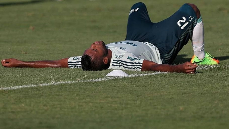 Borja é poupado de treino para participar de jogo na quarta - Cesar Grecoi/Ag. Palmeiras