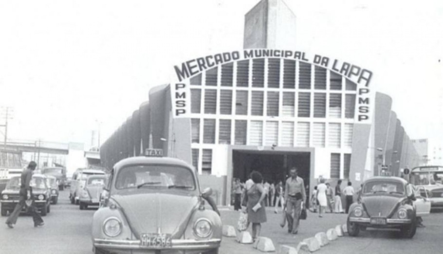 Mercado  Municipalda Lapa (1976) - Oswaldo Journo/ Estadão