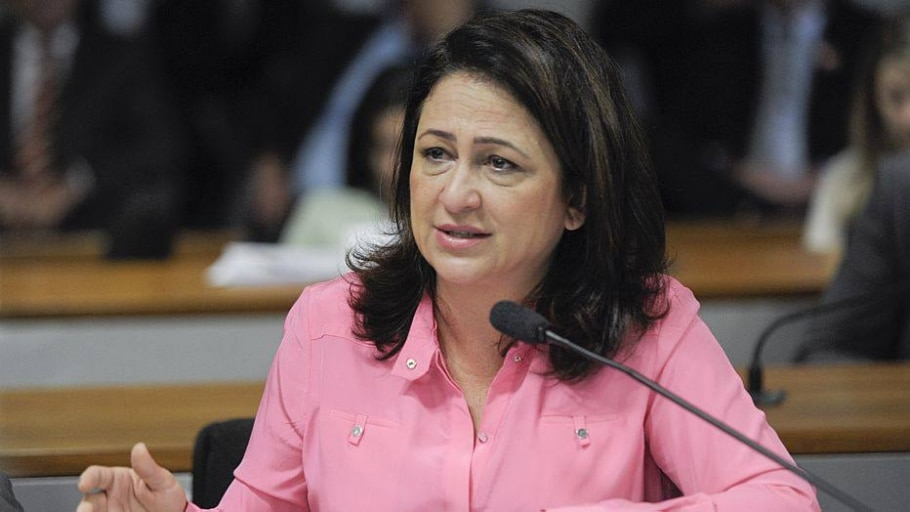 Kátia Abreu foi chamada de traidora por ruralistas - José Cruz/Ag.Senado