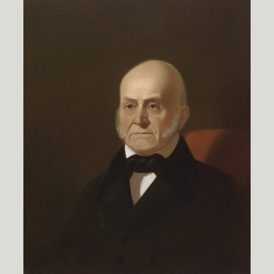 6. John Quincy Adams - Reprodução