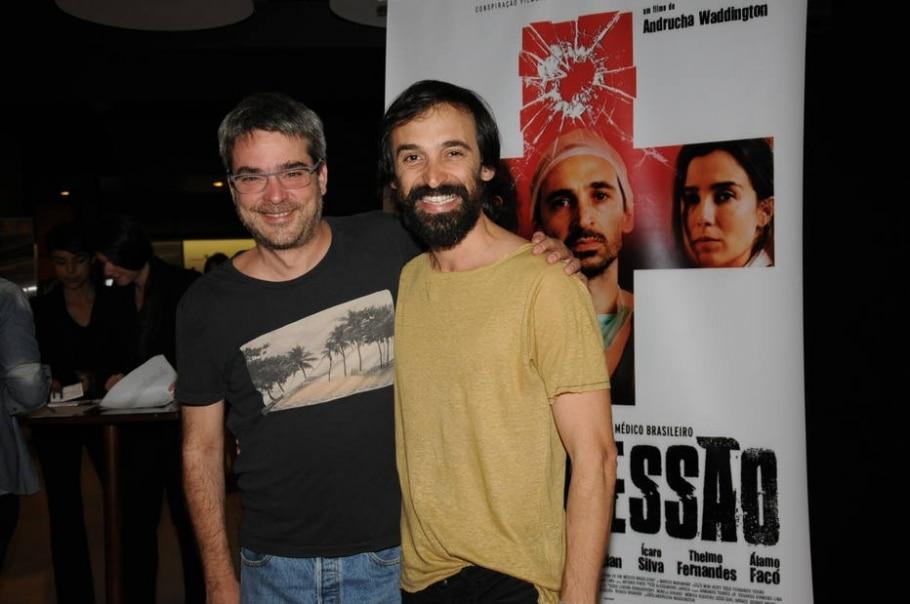 Andrucha Waddington e Jlio Andrade - Marcos Finotti