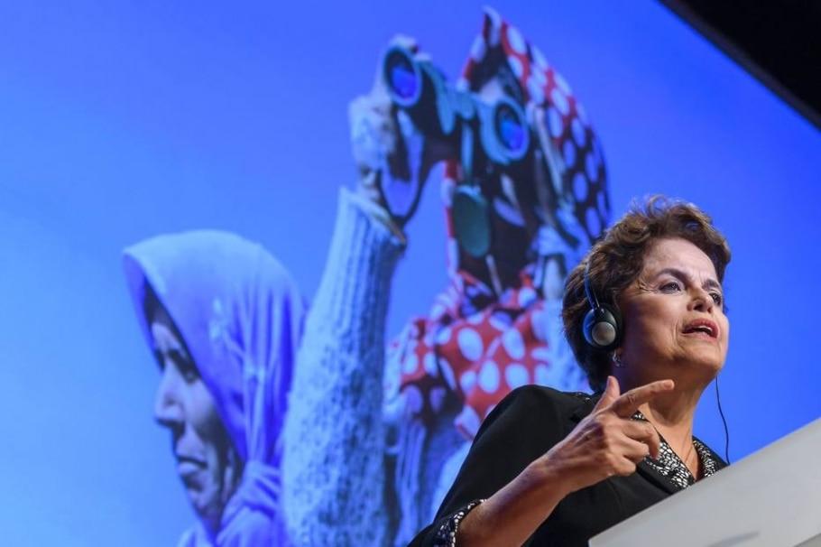 Dilma - Fabrice Coffrini / AFP