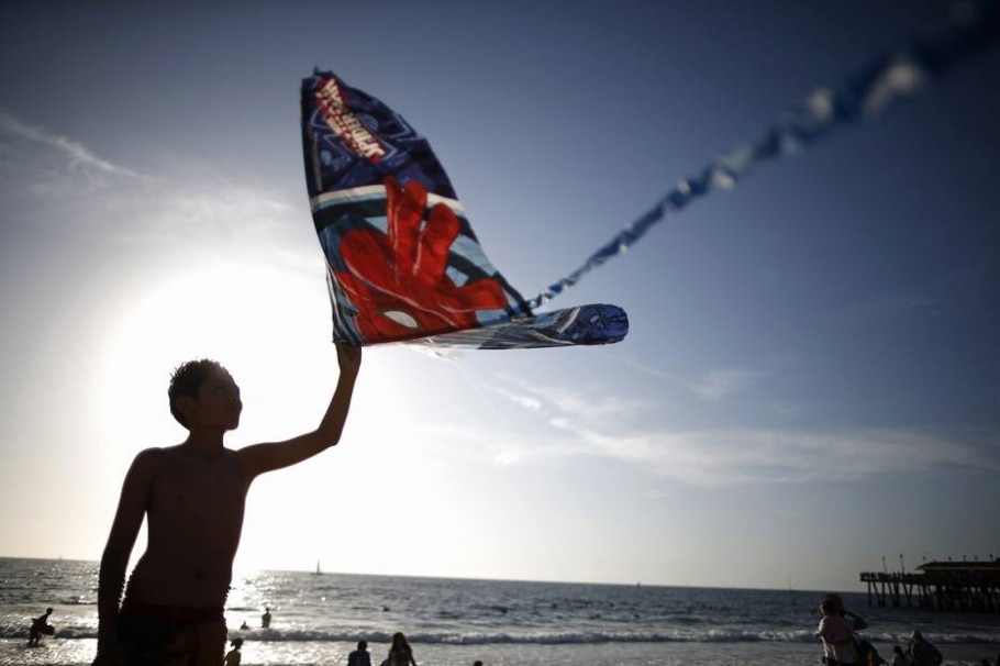 Americanos soltam criatividade em festival de pipa - REUTERS/Lucy Nicholson