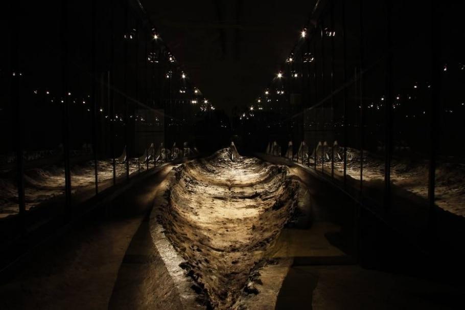 Museu Viking de Ladby, Ilha de Funen, Dinamarca - Vikingemuseet Ladby