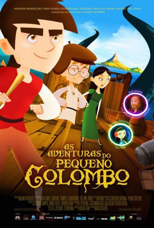 As Aventuras do Pequeno Colombo - Divulgação