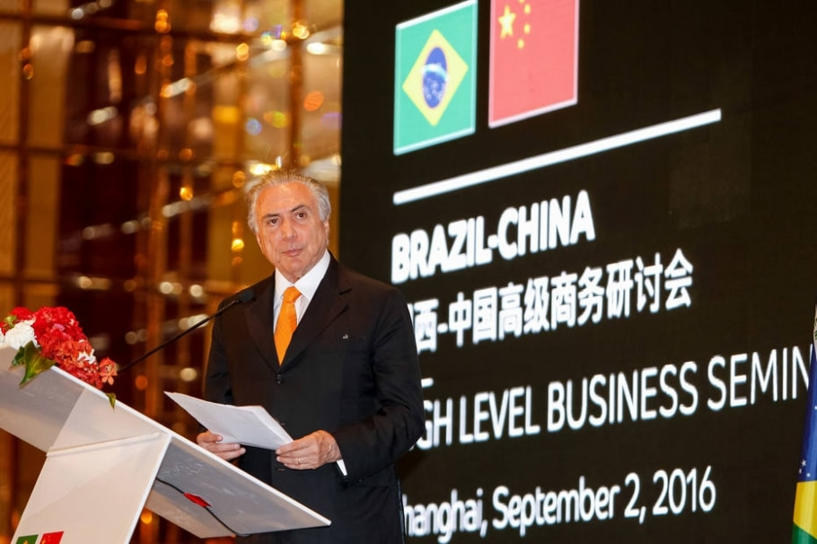 michel-temer--china - Beto Barata/PR