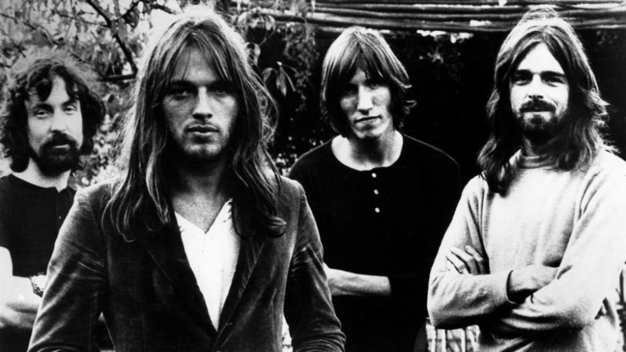 Nick Mason, Gilmour, Roger Waters e Rick Wright, em 1972 - GETTY IMAGES