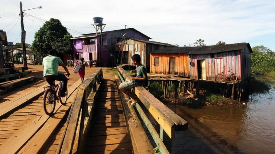 Altamira, no Pará, e Porto Velho, em Rondônia, se transformam com a construção de usinas hidrelétric - Sergio Castro/Estadão