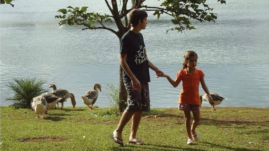 Em comemoração ao aniversário do parque, leitores enviaram suas fotos - Juliana Toledo Piza