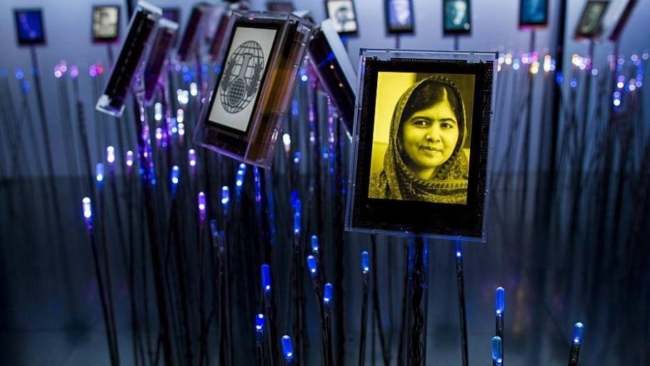 Malala Yousafzai e Kaliash Satyarthi vencem o prêmio - AP