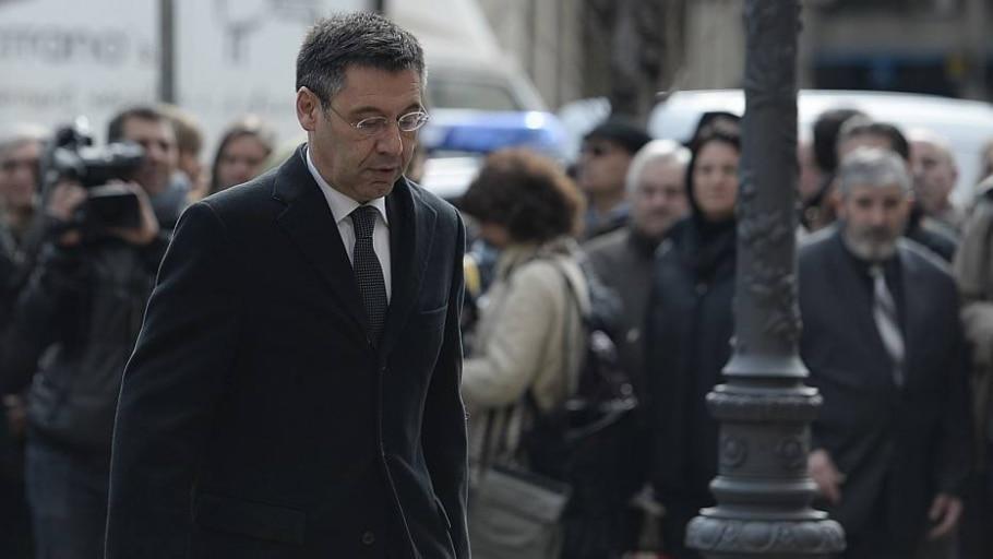 Justiça indiciouo presidente do clube, Josep Maria Bartomeu, por crimes fiscais - Josep Lago/AFP