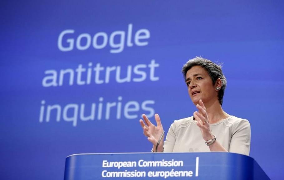 UE apresenta acusação formal contra o Google por violação antitruste -