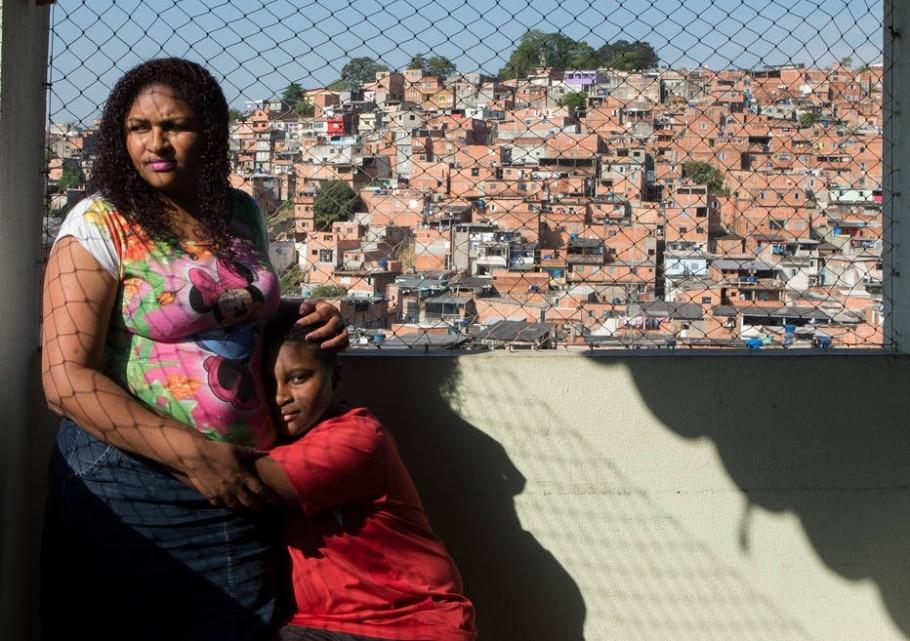 Violência é vista como 'normal' por crianças vulneráveis - Daniel Teixeira/Estadão