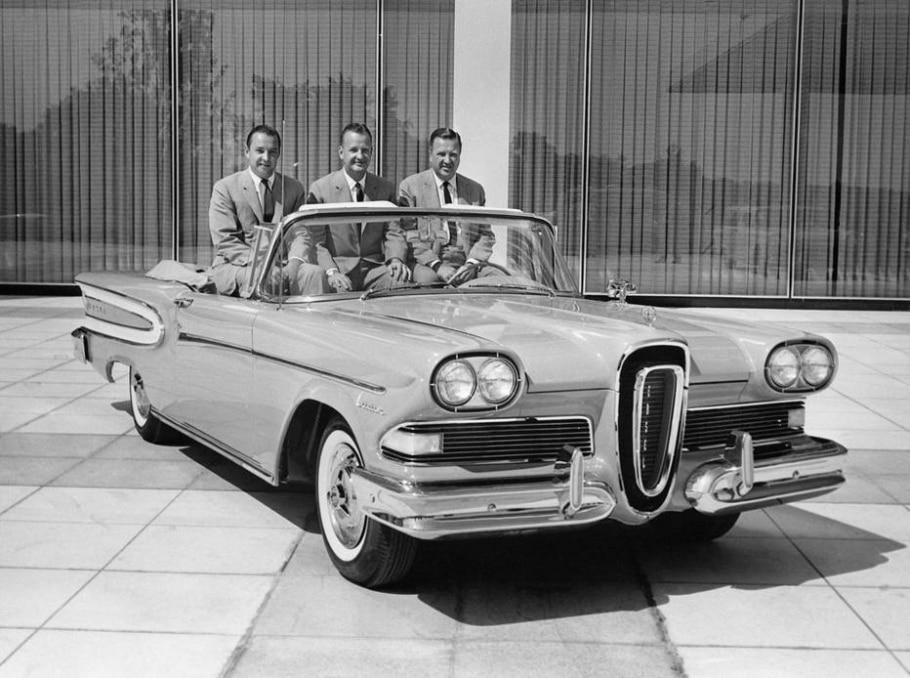 Ford Edsel - DIVULGAÇÃO