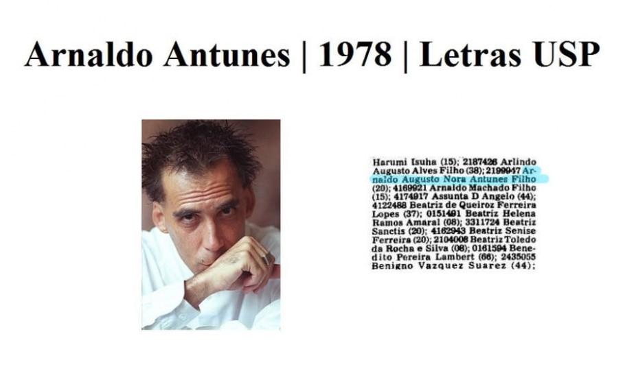 Arnaldo Antunes - Epitácio Pessoa/ Estadão