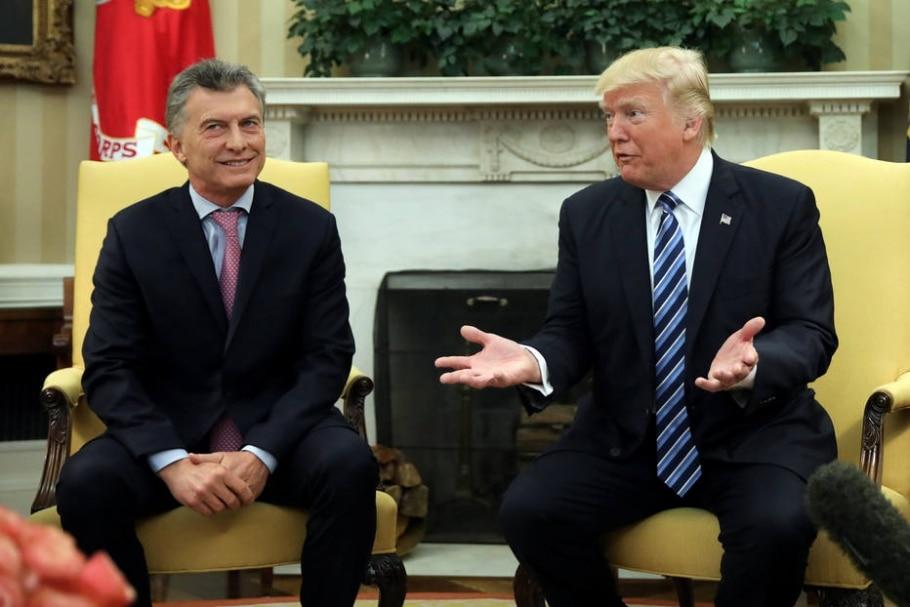 EUA e Argentina - REUTERS/Carlos Barria