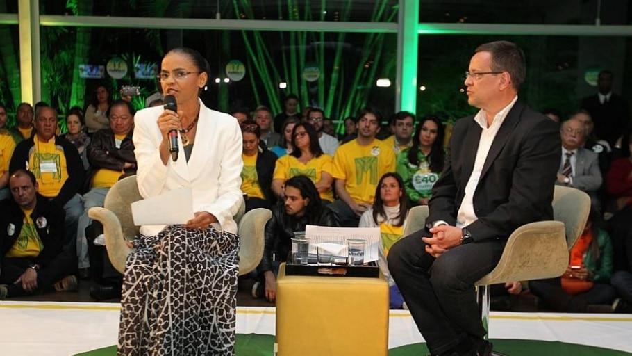 Marina Silva e Beto Albuquerque - Márcio Fernandes/Estadão