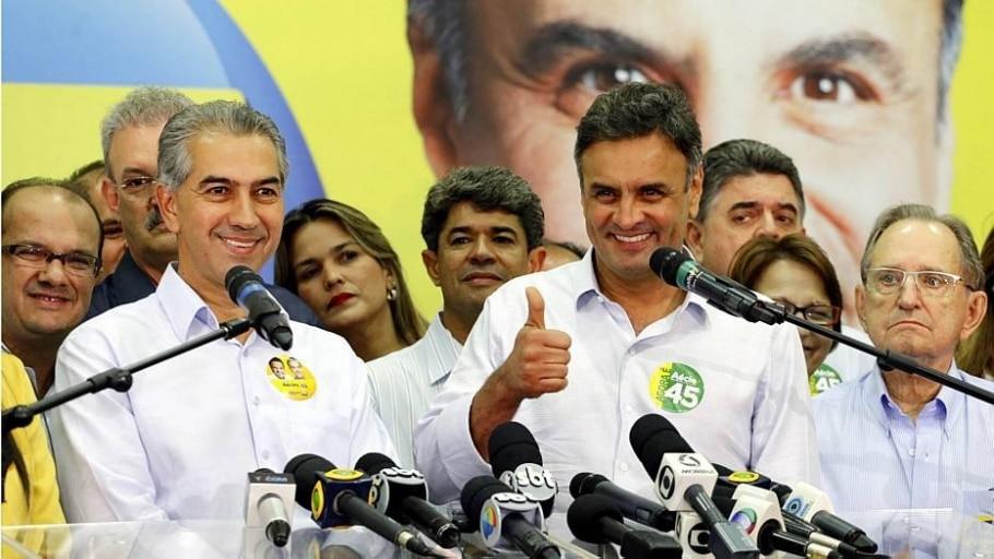 TSE proíbe propaganda do PSDB em que Dilma elogia Aécio - Divulgação
