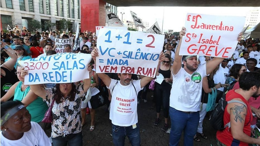 Paralisação - Daniel Teixeira/Estadão
