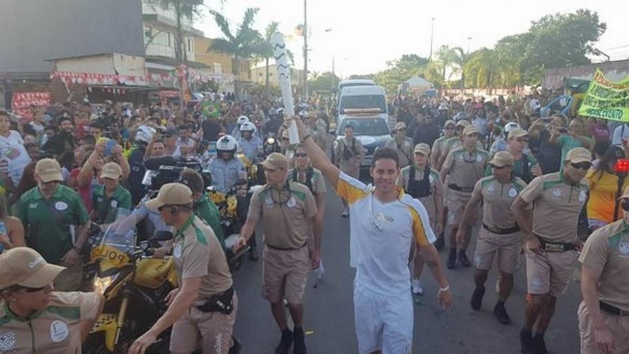 Revezamento da tocha olímpica no Brasil - Rio 2016/Divulgação