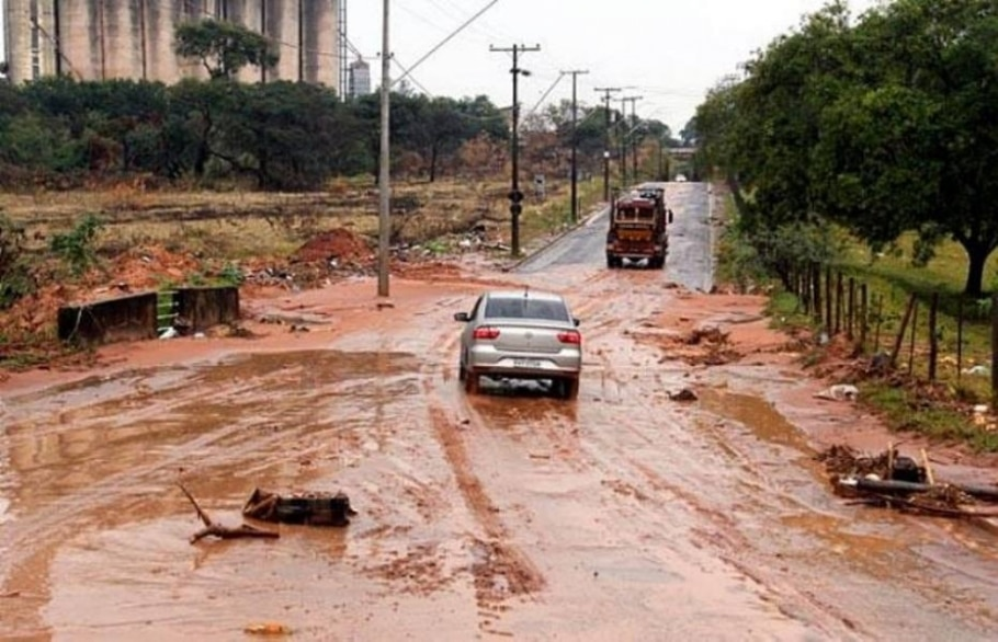 Chuvas no interior de SP - Ricardo Ursulino - Prefeitura de Bauru/Divulgação