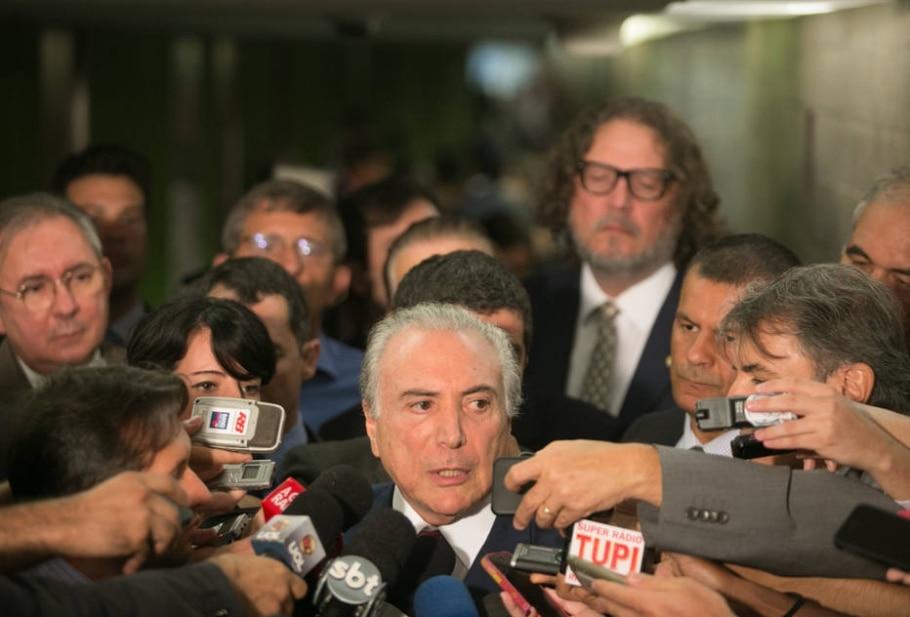Temer nega que PMDB tenha feito convite formal para Marta se filiar ao partido - Ed Ferreira/Estadão