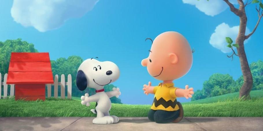 'Snoopy e Charlie Brown' - Reprodução