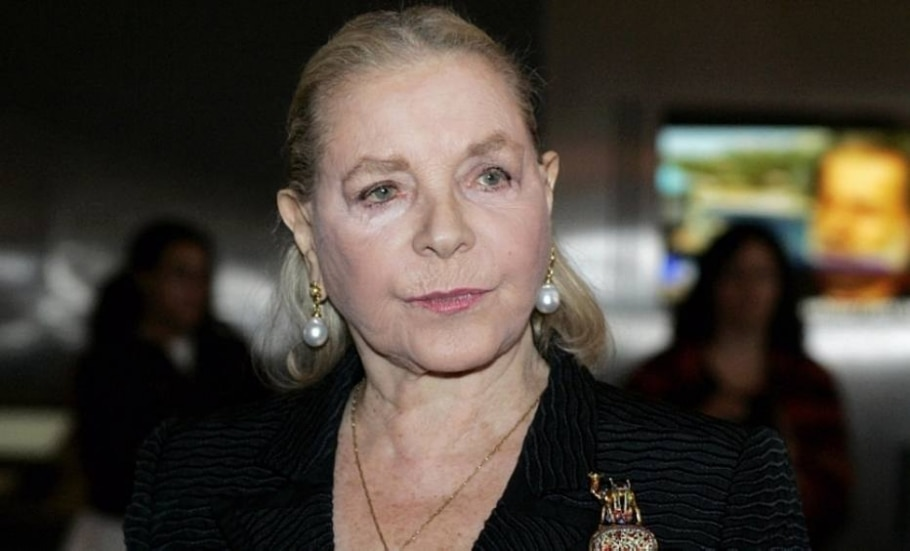 Lauren Bacall - Molly Riley/Reuters