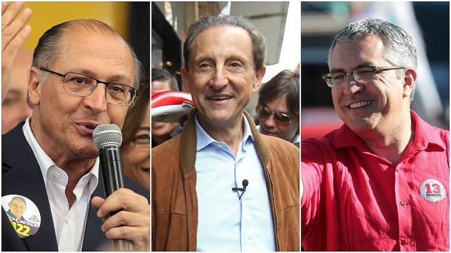 Eleição em São Paulo deve ser definida no 1º turno - Montagem/Estadão