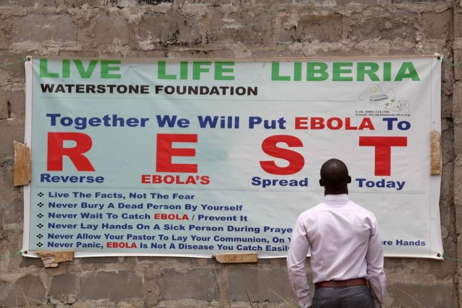 OMS assume culpa por fracasso na operação contra o Ebola - Ahmed Jallanzo/EPA/EFE