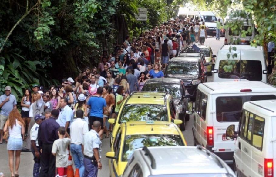 O Rio nunca teve tantos turistas. Nem tanta fila - Marcos de Paula/AE