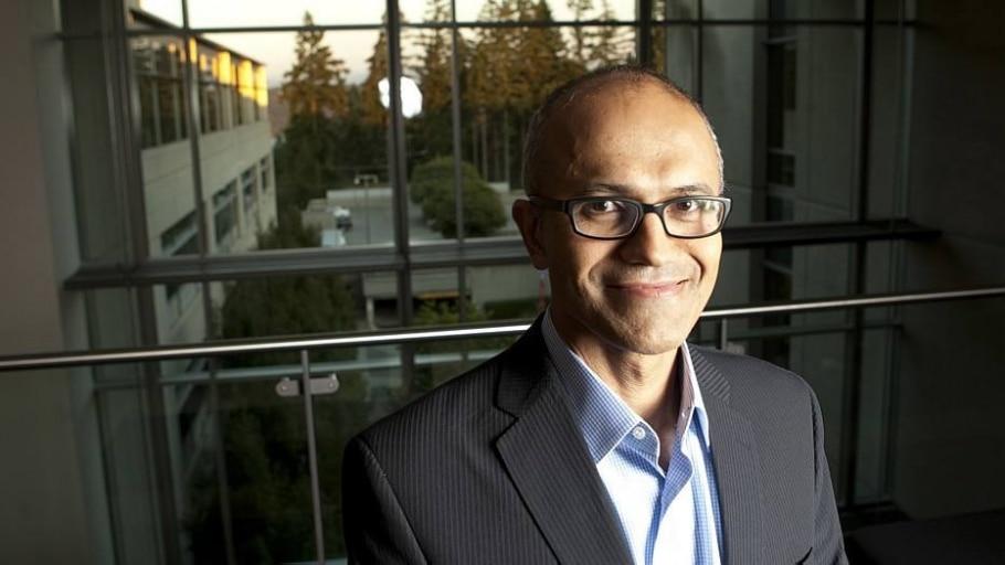 O CEO da Microsoft, Satya Nadella - KEVIN P. CASEY/NYT