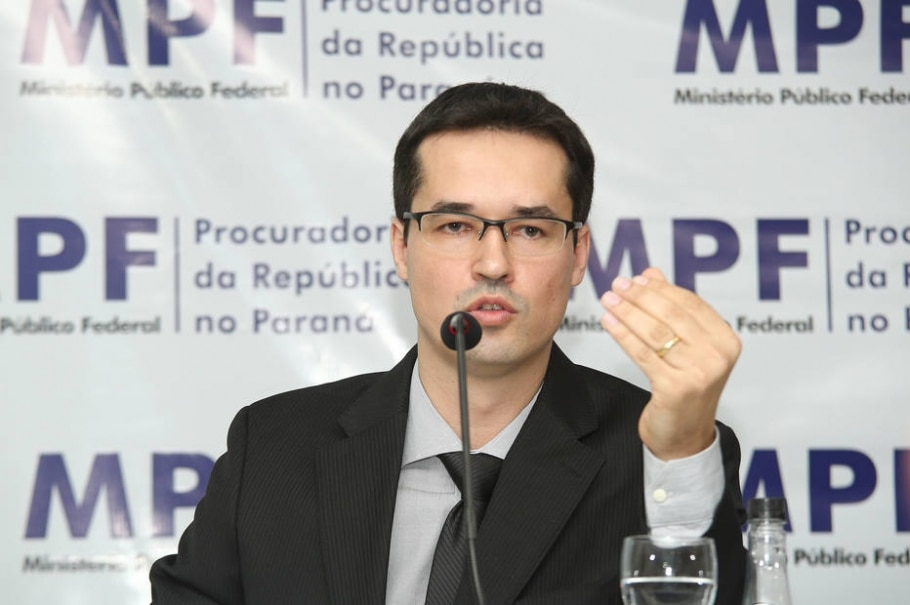 O procurador Deltan Dallagnol  -