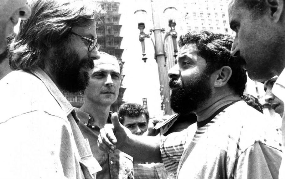 Dirceu, Suplicy e Lula - Alfredo Rizzutti/Estadão