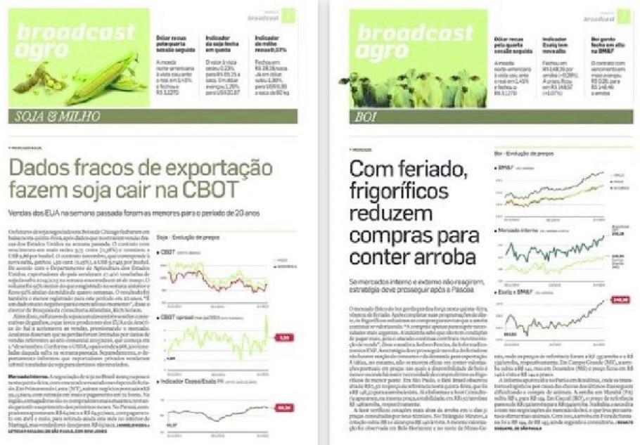 'AE' amplia cobertura do agronegócio -