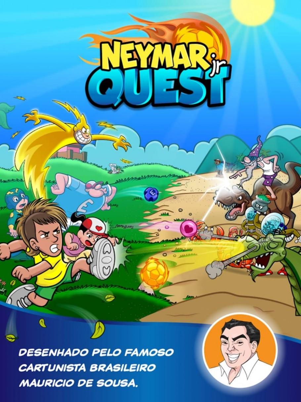 Neymar Jr. Quest - Reprodução