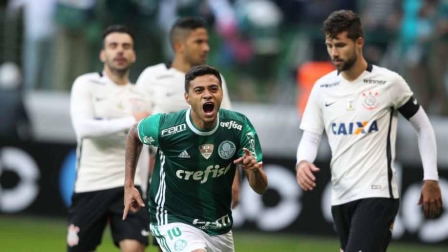 Palmeiras x Corinthians - Werther Santana/Estadão