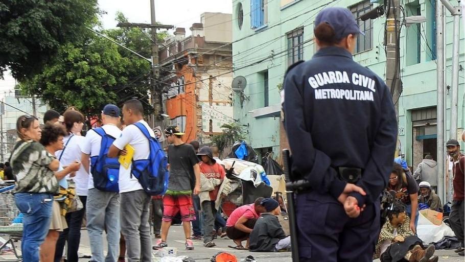 4º - Capacitar 6.000 agentes da Guarda Civil Metropolitana em Direitos Humanos e 2.000 em Mediação de Conflitos: 167,2% - Werther Santana/ Estadão