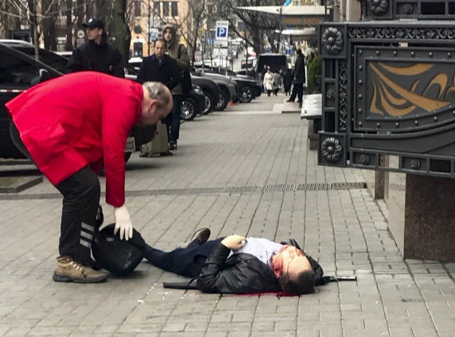 O ex-deputado russo Denis Voronenkov foi morto a tiros perto de um hotel no centro de Kiev - AP Photo/Alisa Berezutsskaya